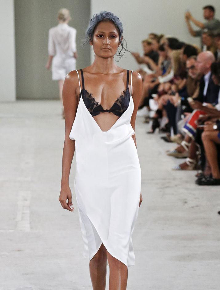 Surelee Joseph At New York Fashion Week Rediff Com Get