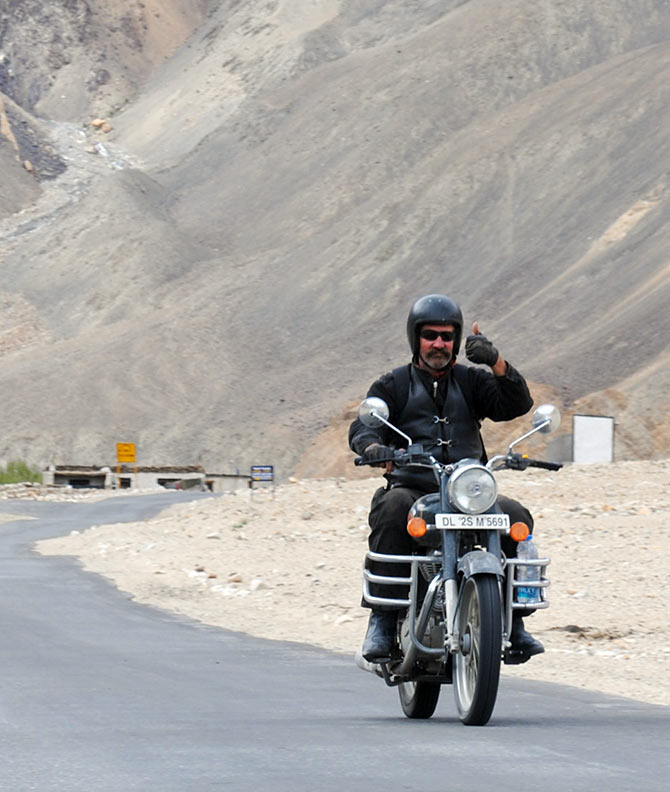 How to prepare yourself and your bike for a trip to Ladakh
