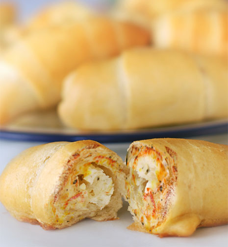 Latest News from India - Get Ahead - Careers, Health and Fitness, Personal Finance Headlines - Recipe: How to make spicy cheesy pinwheel bread rolls