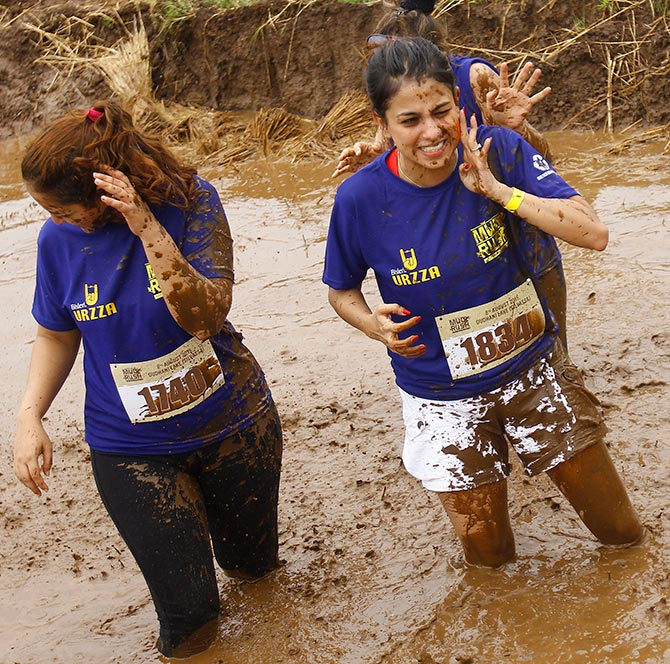 The Mud Rush
