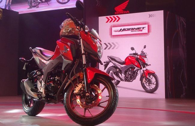 Honda CB Hornet 160R all set to enter India