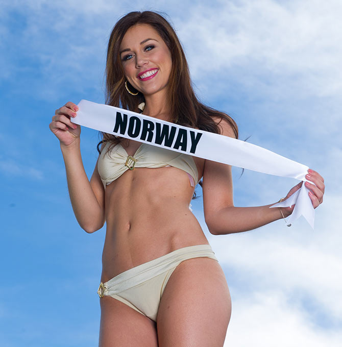 Martine Rødseth, Miss Universe Norway 2015