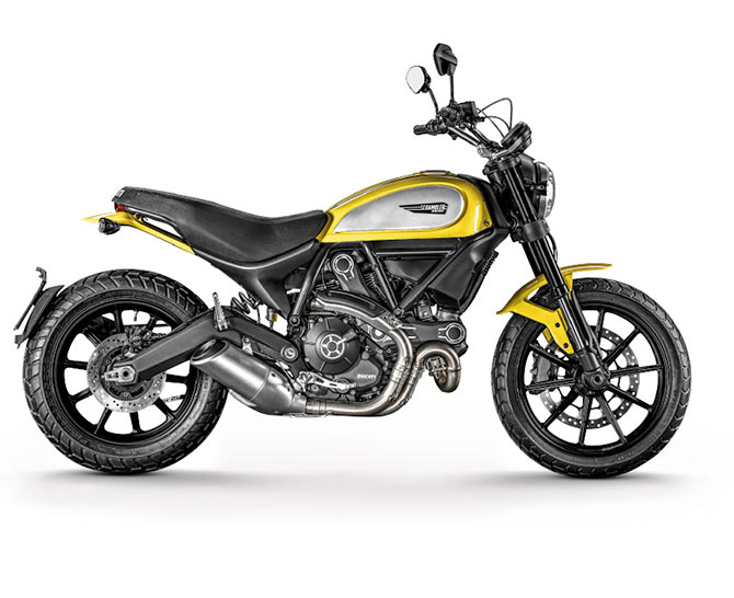 Meet the Ducati Scramblers