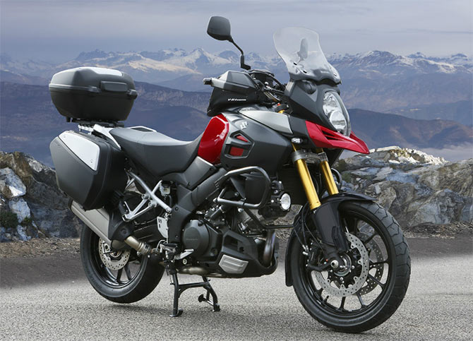 pics: 7 adventure sport bikes launched in 2014 - rediff get ahead