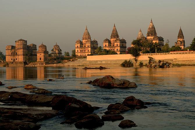 Latest News from India - Get Ahead - Careers, Health and Fitness, Personal Finance Headlines - Orchha: Where monuments speak