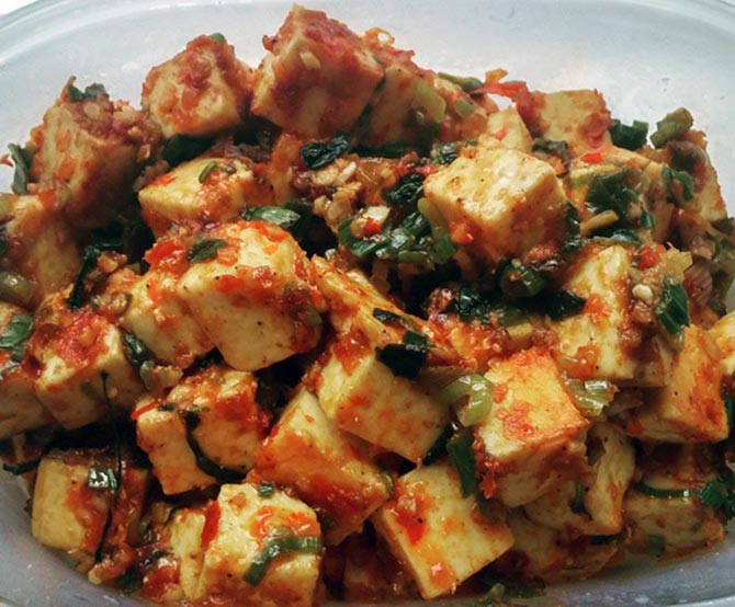 Recipe how to make paneer chilli rediff get ahead paneer chilli forumfinder Image collections