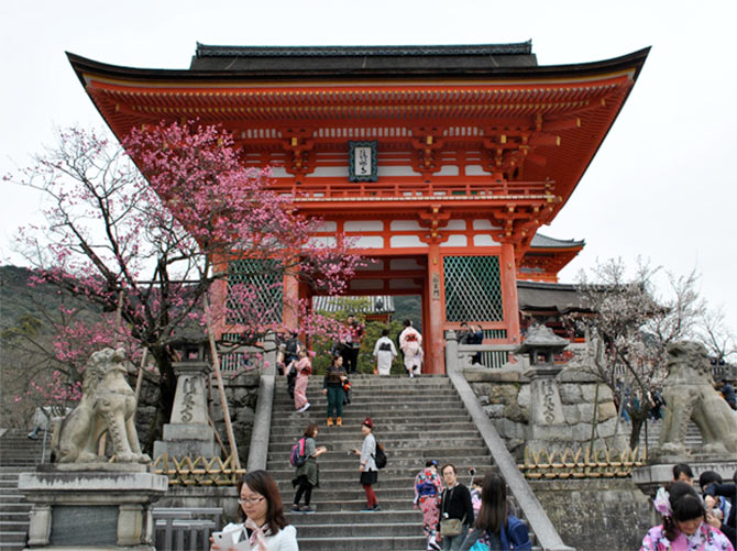 Latest News from India - Get Ahead - Careers, Health and Fitness, Personal Finance Headlines - Kyoto and its temples