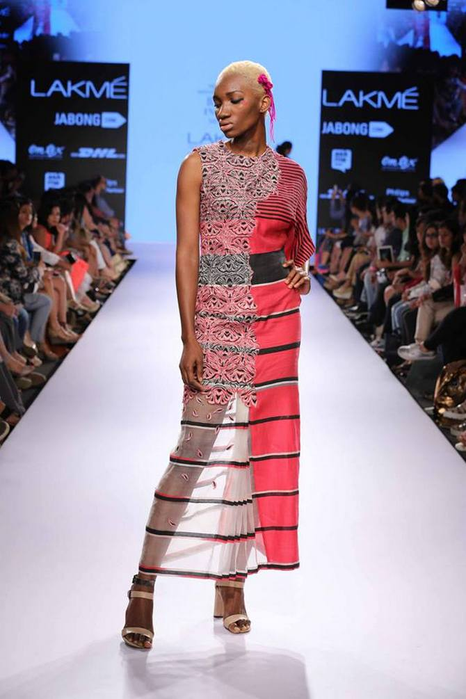 Latest News from India - Get Ahead - Careers, Health and Fitness, Personal Finance Headlines - The first Nigerian model at Lakme Fashion Week