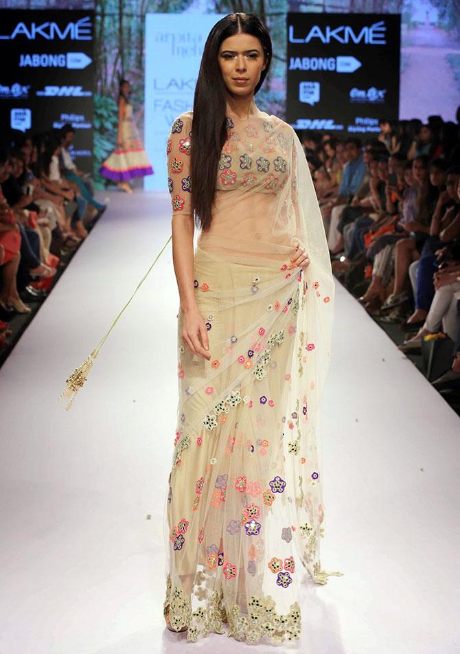 Lakme Fashion Week Sarees Buy Online