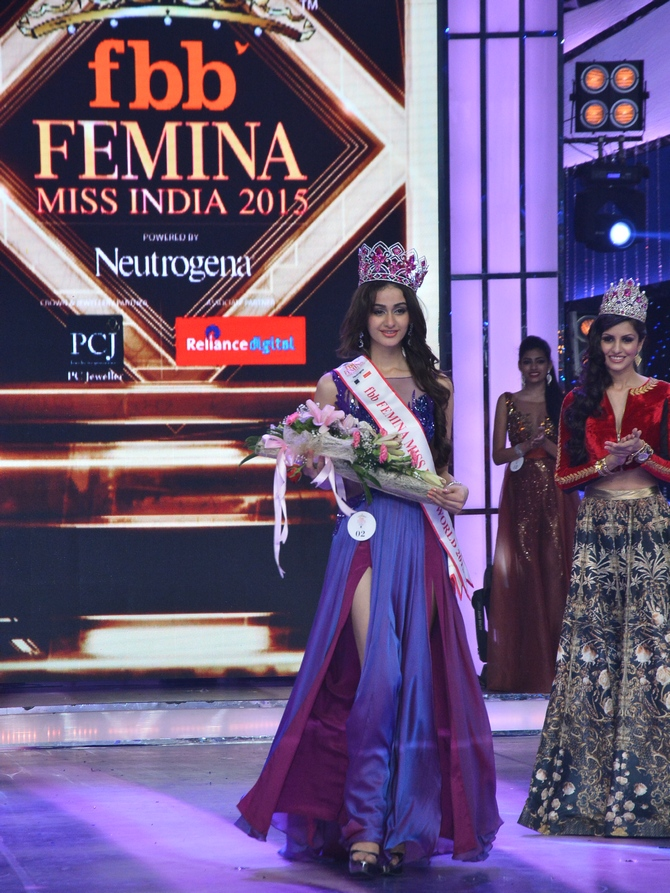 Latest News from India - Get Ahead - Careers, Health and Fitness, Personal Finance Headlines - Aditi Arya is Miss India World 2015