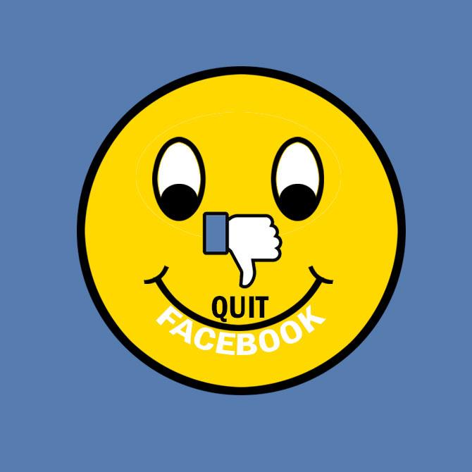 Quit Facebook, be happier?