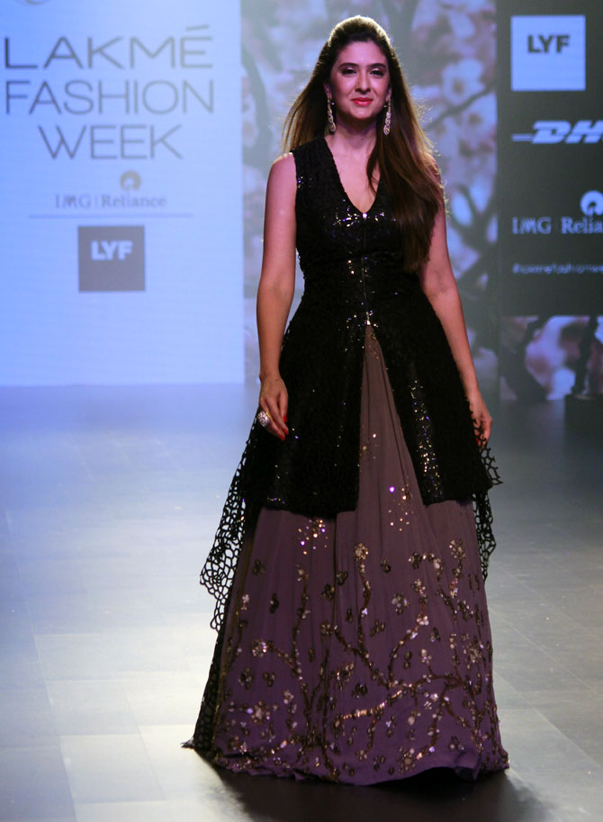 Pics: When power women turned showstoppers - Rediff.com Get Ahead