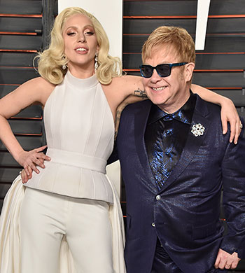 Latest News from India - Get Ahead - Careers, Health and Fitness, Personal Finance Headlines - Lady Gaga and Elton John turn designers for charity