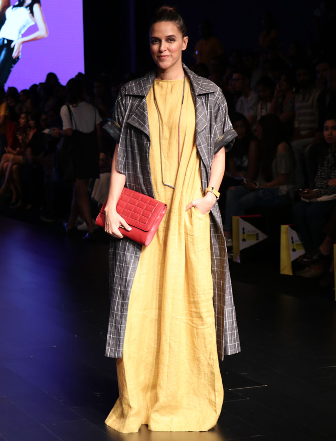 Latest News from India - Get Ahead - Careers, Health and Fitness, Personal Finance Headlines - Spotted: Neha, Mansi, Jackky at Lakme Fashion Week