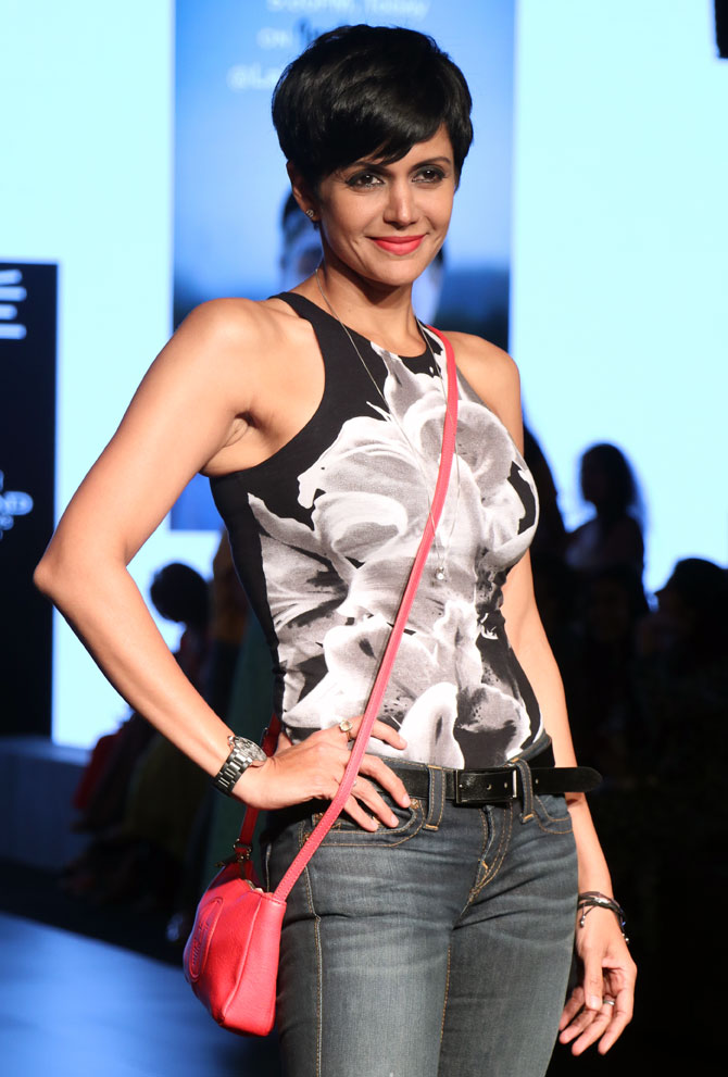 Latest News from India - Get Ahead - Careers, Health and Fitness, Personal Finance Headlines - Pics: Mandira, Tanisha, Shamita at fashion week