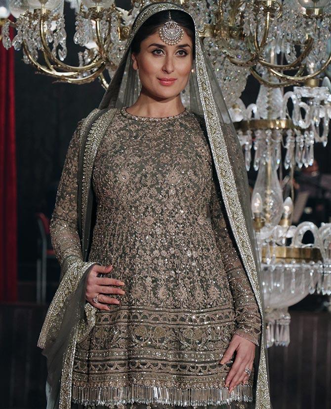A walk to remember: Kareena wraps up LFW - Rediff.com Get ... Sabyasachi Kurtis