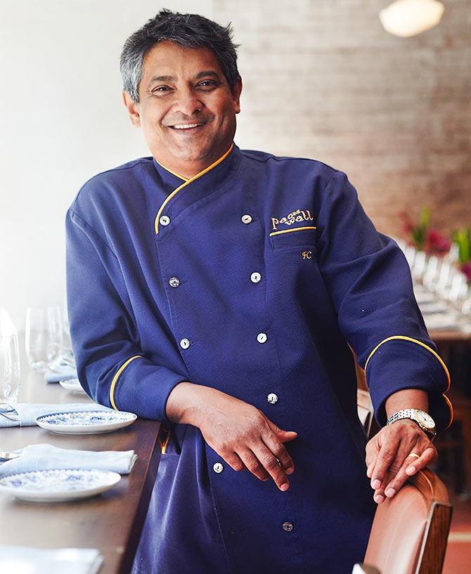 The chef who is taking Indian cuisine to New York - Rediff ...