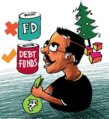 Latest News from India - Get Ahead - Careers, Health and Fitness, Personal Finance Headlines - This Xmas, ring out your FDs and ring in debt funds