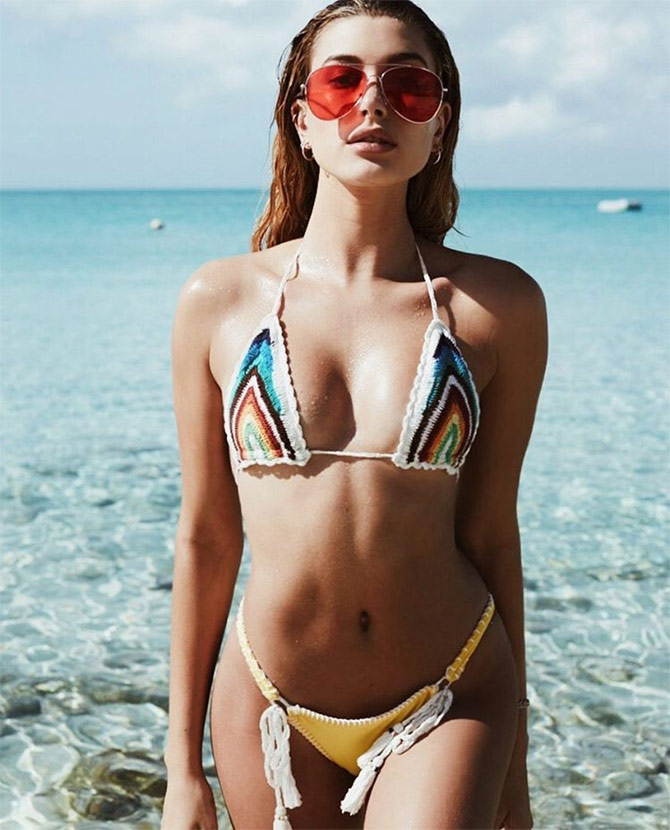 Bikini bottom gaping girl