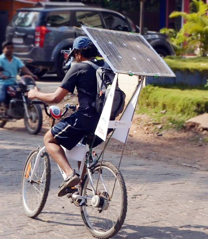 Latest News from India - Get Ahead - Careers, Health and Fitness, Personal Finance Headlines - Why this 26 year old cycled from Mumbai to Goa