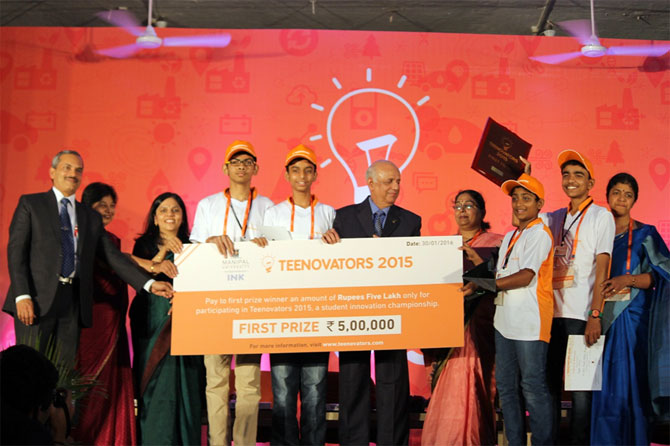 Latest News from India - Get Ahead - Careers, Health and Fitness, Personal Finance Headlines - Top 8: Awesome innovations by Indian teens