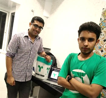Latest News from India - Get Ahead - Careers, Health and Fitness, Personal Finance Headlines - How two 21-year olds plan to make Bharat Swachh
