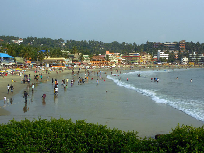 Latest News from India - Get Ahead - Careers, Health and Fitness, Personal Finance Headlines - 'Kovalam is a beautiful beach to relax'