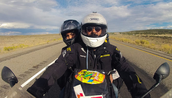Latest News from India - Get Ahead - Careers, Health and Fitness, Personal Finance Headlines - This couple is travelling the world on their BIKE