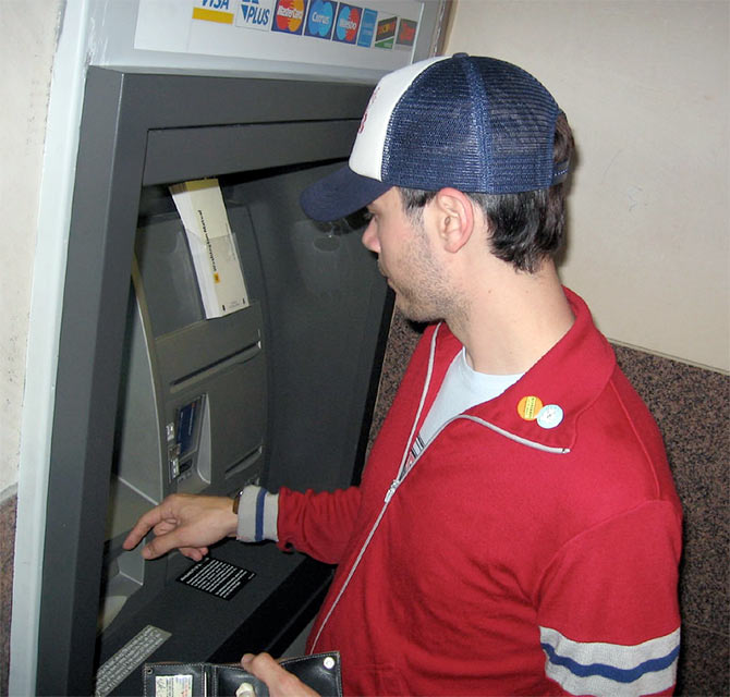 what year did the atm machine come out
