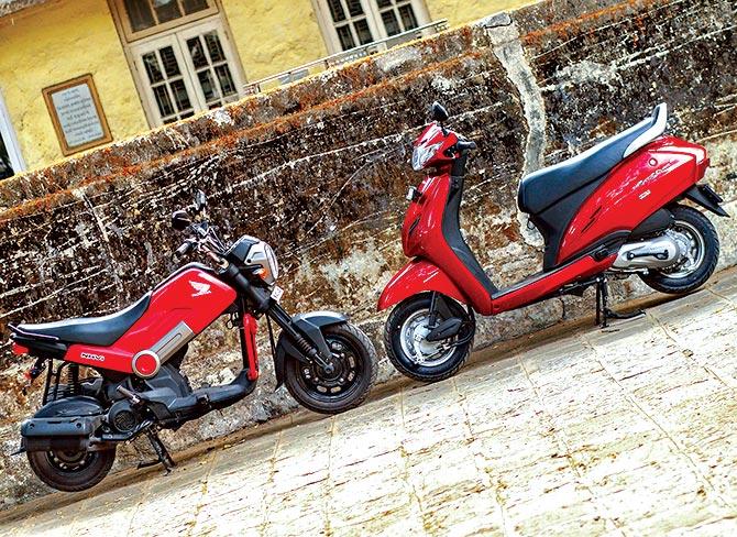 Honda Navi vs Honda Activa G
