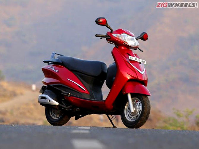 Top 5 fuel-efficient scooters in India