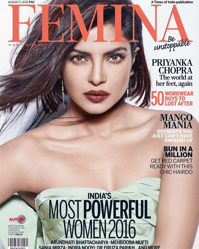 Latest News from India - Get Ahead - Careers, Health and Fitness, Personal Finance Headlines - Priyanka or Gigi: Who's the more POWERFUL cover girl?