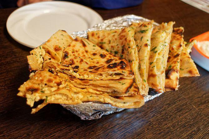 Veg Cheese Paratha