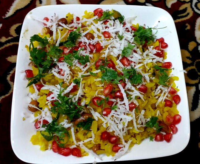 Poha with a twist by Reshma Aslam