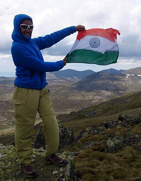 Latest News from India - Get Ahead - Careers, Health and Fitness, Personal Finance Headlines - The Indian teen scaling the world's highest peaks