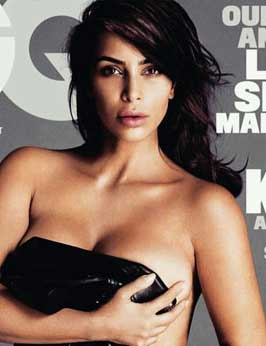 Latest News from India - Get Ahead - Careers, Health and Fitness, Personal Finance Headlines - Kim K  bares it all for June GQ cover