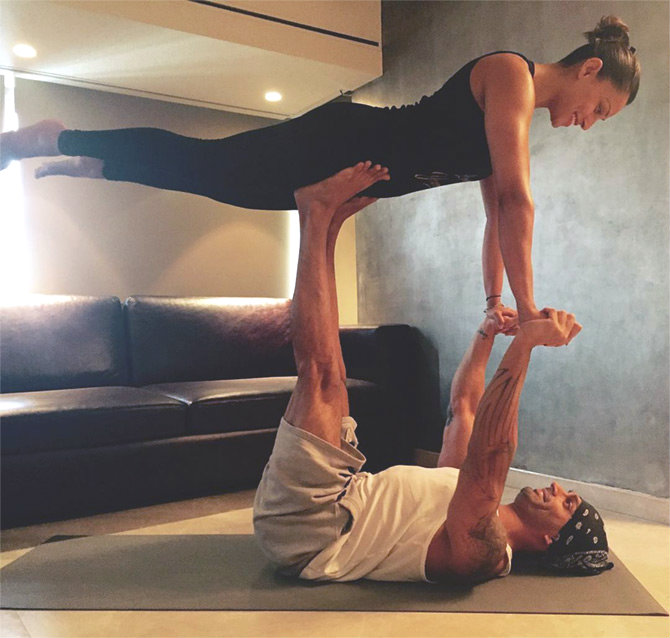 Latest News from India - Get Ahead - Careers, Health and Fitness, Personal Finance Headlines - 15 celebs who love to do yoga