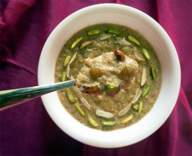 Khajur ki Kheer by Chef Saransh Goila