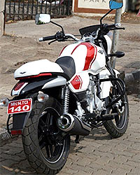 This Bajaj is made from INS Vikrant