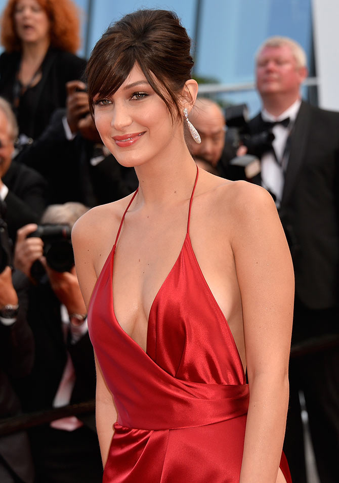 Latest News from India - Get Ahead - Careers, Health and Fitness, Personal Finance Headlines - Hot or HOT? Bella Hadid goes commando at Cannes