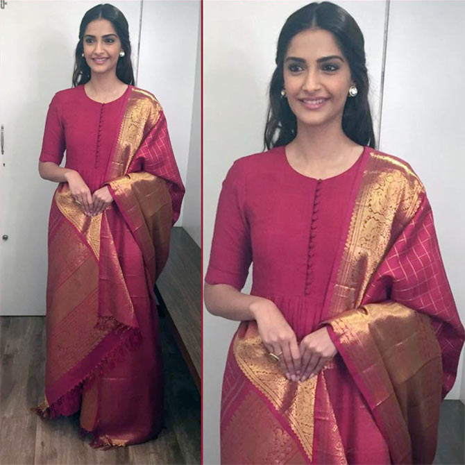 10 clever ways to refashion old silk saris - Rediff.com Get Ahead