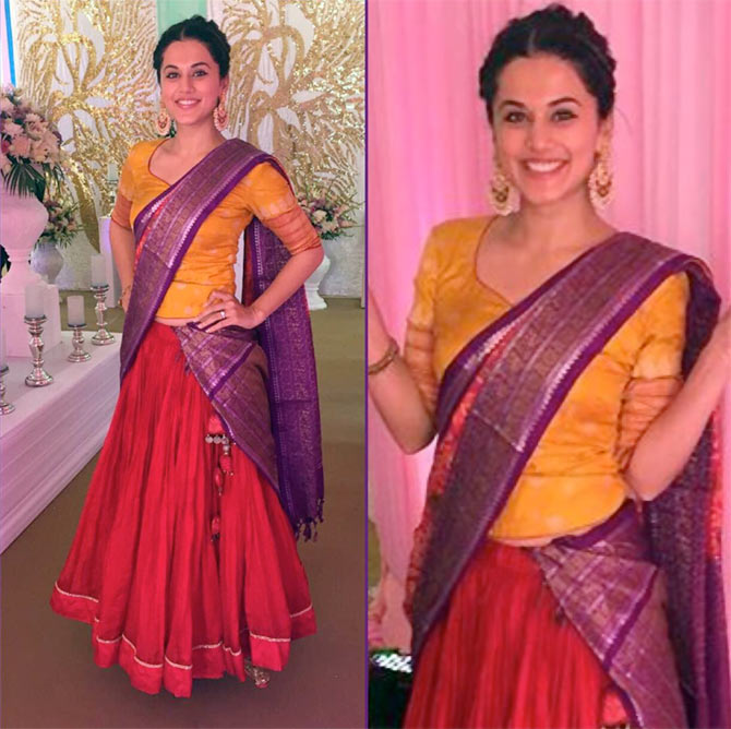 how to make dress from saree