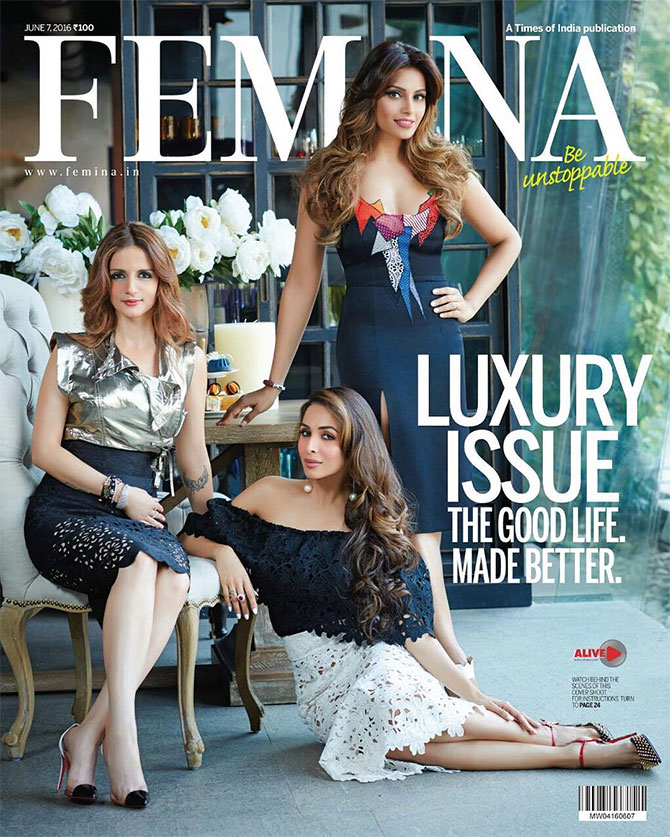 Latest News from India - Get Ahead - Careers, Health and Fitness, Personal Finance Headlines - Three hotties. One cover. Like it?