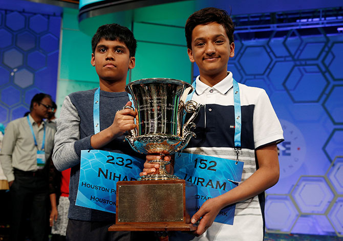 Latest News from India - Get Ahead - Careers, Health and Fitness, Personal Finance Headlines - Indian-American kids sweep Spelling Bee