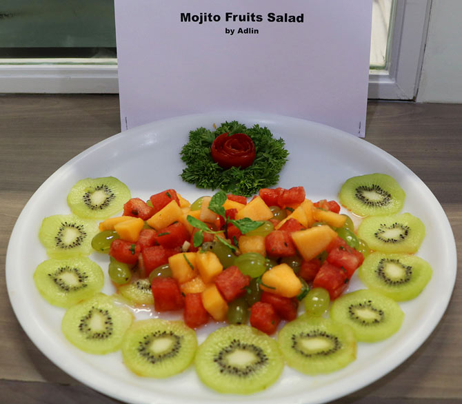 When chef sanjeev kapoor visited rediff office rediff get ahead image mojito fruit salad by adlin forumfinder Gallery