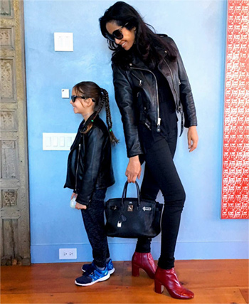 padma lakshmi with her daughter krishna