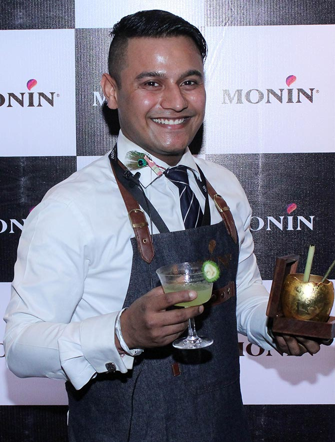Latest News from India - Get Ahead - Careers, Health and Fitness, Personal Finance Headlines - Gurgaon-based bartender wins ticket to Paris