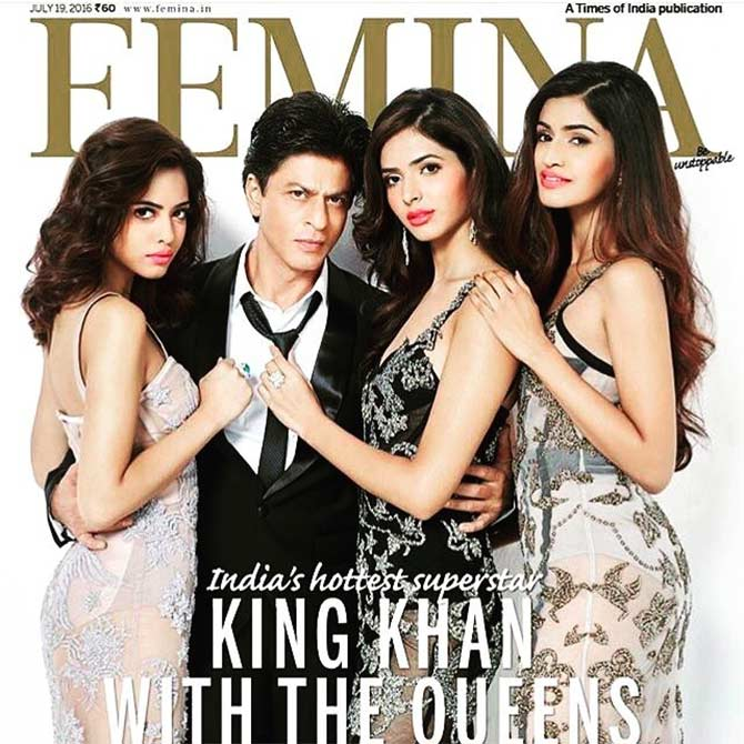 Pankhuri for Femina magazine