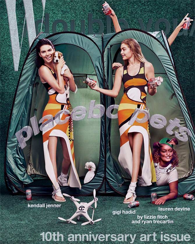 Latest News from India - Get Ahead - Careers, Health and Fitness, Personal Finance Headlines - WTF! Kendall, Gigi have no knees on mag cover
