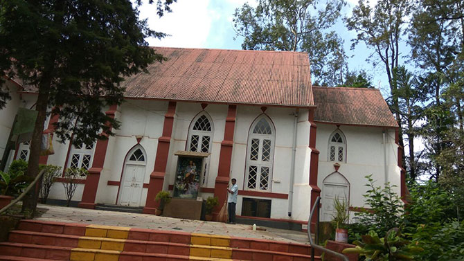 St. Joseph's church, Panchgani